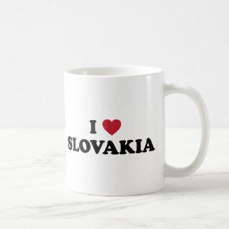 I Love Slovakia Basic White Mug