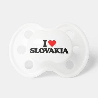 I LOVE SLOVAKIA PACIFIERS