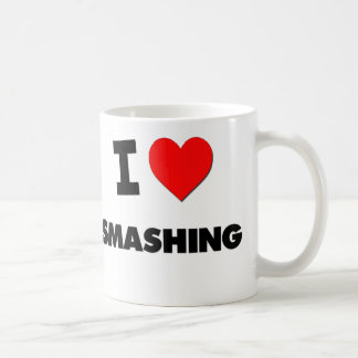 I love Smashing Basic White Mug