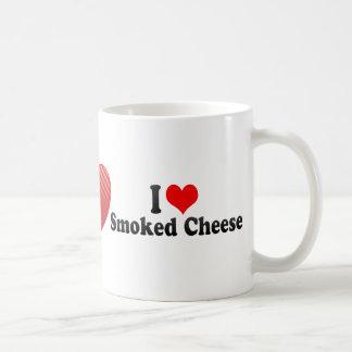 I Love Smoked Cheese Coffee Mugs