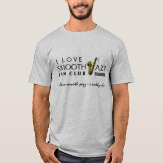 I Love Smooth Jazz Fan Club 3247 Grey Shirt 6501
