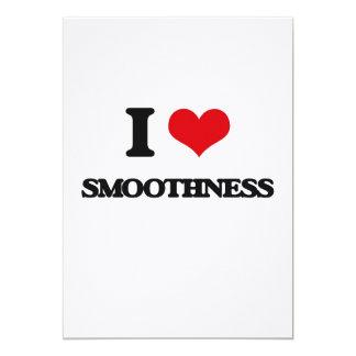 I love Smoothness 13 Cm X 18 Cm Invitation Card