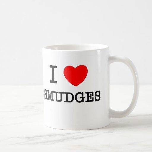 I Love Smudges Coffee Mug