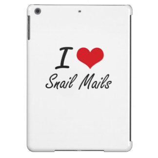 I love Snail Mails Case For iPad Air