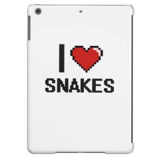 I love Snakes Digital Design iPad Air Cases