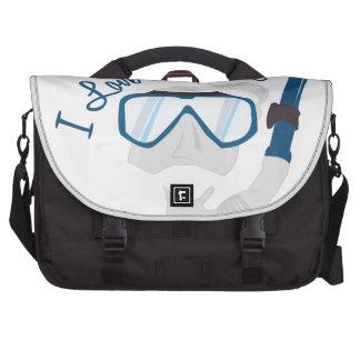 I Love Snorkeling Bag For Laptop