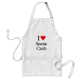 I love Snow Crab Standard Apron