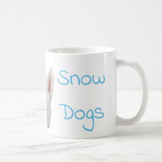 I Love Snow Dogs Siberian Husky Coffee Mug