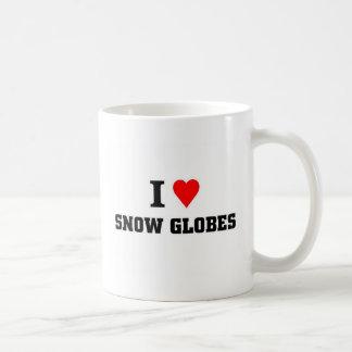 I love Snow Globes Basic White Mug