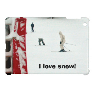I love snow! iPad mini cover