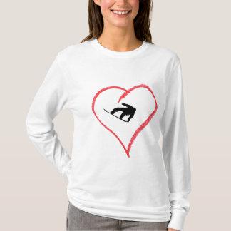 I Love Snowboarding T-Shirt