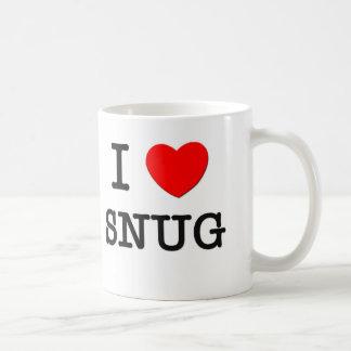 I Love Snug Coffee Mug
