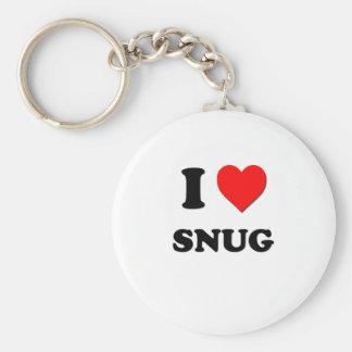 I love Snug Basic Round Button Key Ring