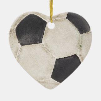 I Love Soccer Christmas Tree Ornament Gift Idea