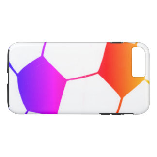 I LOVE SOCCER ( football ) iPhone 8 Plus/7 Plus Case