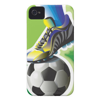 I Love Soccer iPhone 4 Case