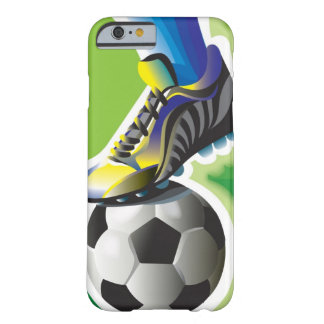 I Love Soccer iPhone 6 case