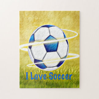 I Love Soccer Jigsaw Puzzle