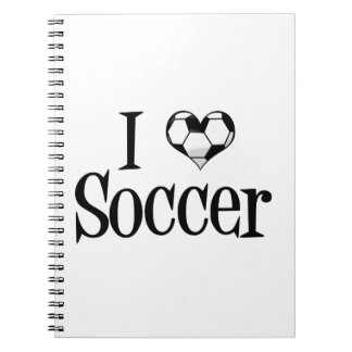 I Love Soccer Notebook