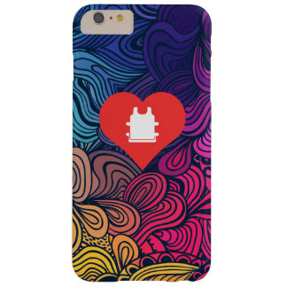 I Love Soccer Vests Barely There iPhone 6 Plus Case