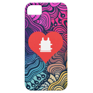 I Love Soccer Vests iPhone 5 Covers