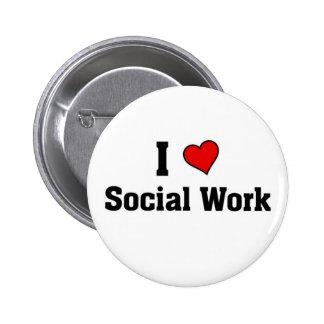 I love Social work Pins