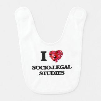 I Love Socio-Legal Studies Baby Bib