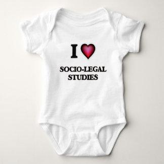 I Love Socio-Legal Studies Baby Bodysuit