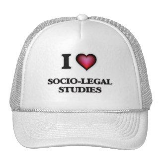 I Love Socio-Legal Studies Cap