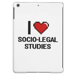 I Love Socio-Legal Studies Digital Design iPad Air Case