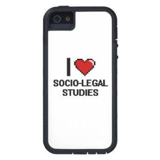 I Love Socio-Legal Studies Digital Design iPhone 5 Cover