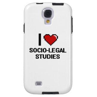 I Love Socio-Legal Studies Digital Design Galaxy S4 Case