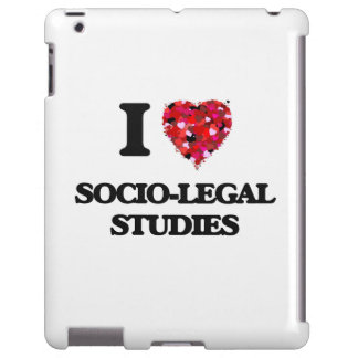 I Love Socio-Legal Studies iPad Case