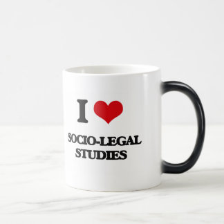 I Love Socio-Legal Studies 11 Oz Magic Heat Color-Changing Coffee Mug