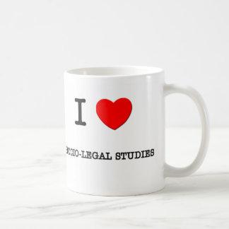 I Love SOCIO-LEGAL STUDIES Mugs