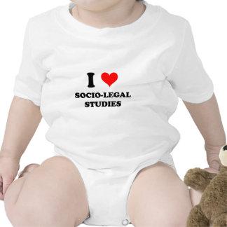 I Love Socio-Legal Studies Bodysuit