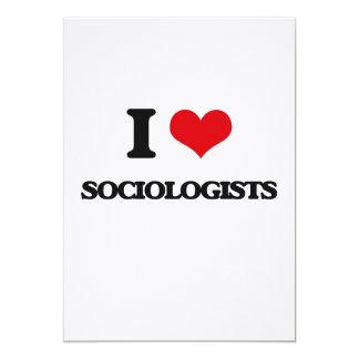 I love Sociologists Custom Invite