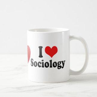I Love Sociology Coffee Mug