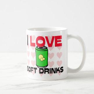 I Love Soft Drinks Coffee Mug