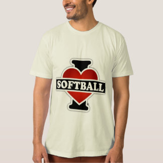 I Love Softball Tshirt