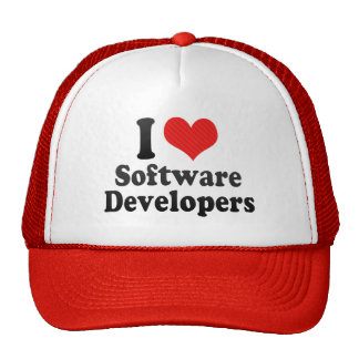 I Love Software Developers Mesh Hats