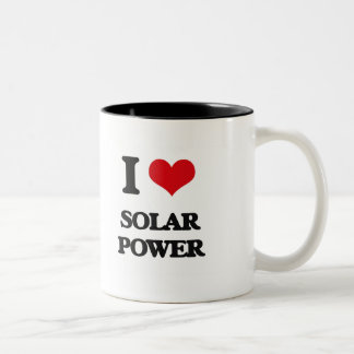 I love Solar Power Two-Tone Mug