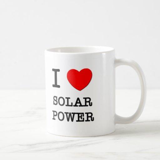 I Love Solar Power Mug