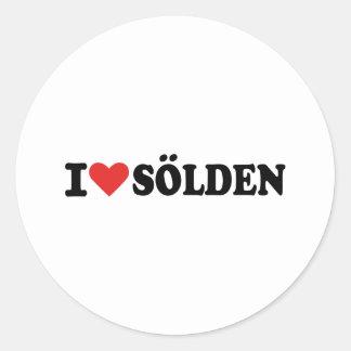 I love Sölden Sticker