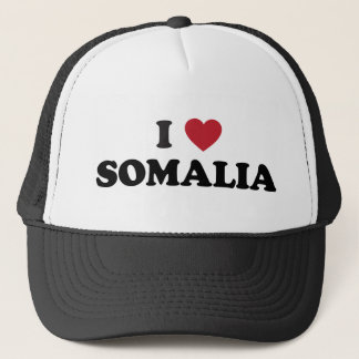 I Love Somalia Trucker Hat