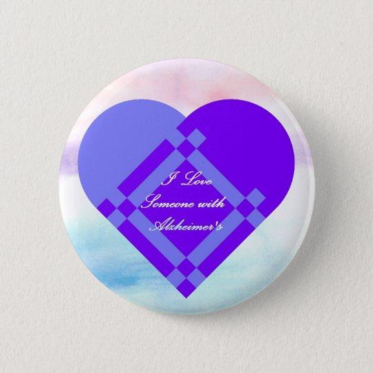 I Love Someone 6 Cm Round Badge