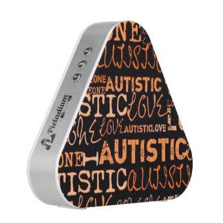 I Love Someone Autistic Pieladium Speaker