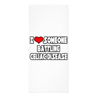 I Love Someone Battling Celiac Disease Custom Rack Cards