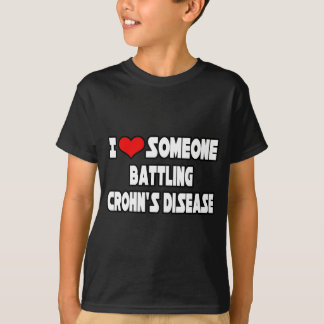 I Love Someone Battling Crohn's Disease T-Shirt