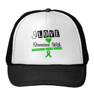 I Love Someone With Traumatic Brain Injury Mesh Hats